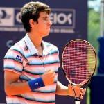 Orlandinho chega a Porto Alegre para disputar a antiga Copa Gerdau, embalado por 4 títulos em 2 torneios - 18 anos ITF 2014