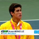 Orlandinho Luz fica com a medalha de Prata nas Olimpíadas de Nanjing
