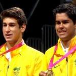 Orlandinho Luz  e Marcelo Zormann conquistam a medalha de ouro das Olimpíadas da Juventude de Nanjing. na China 2014