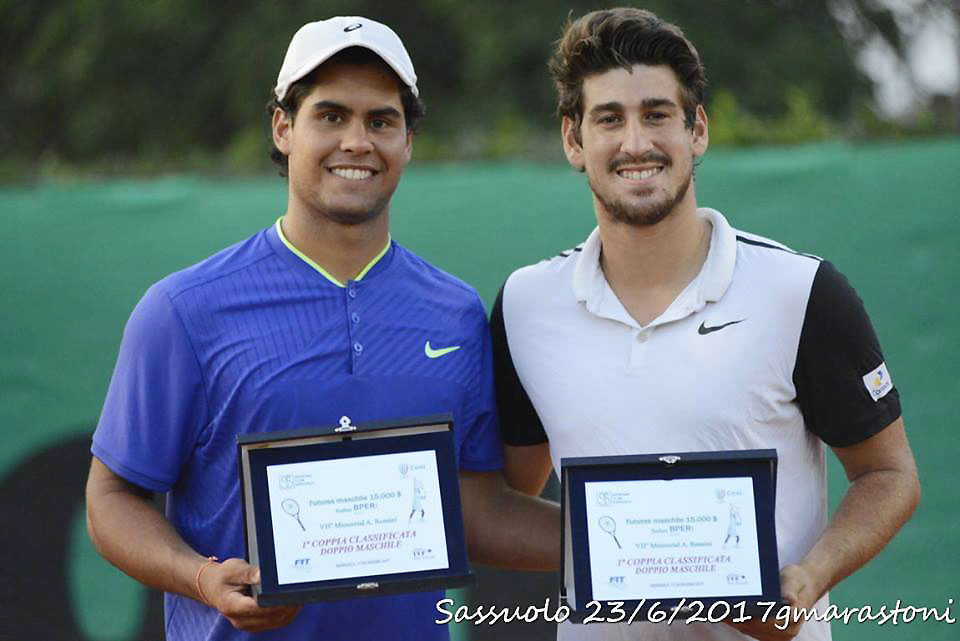 Orlando Luz e Marcelo Zormann conquistam o título em Sassuolo