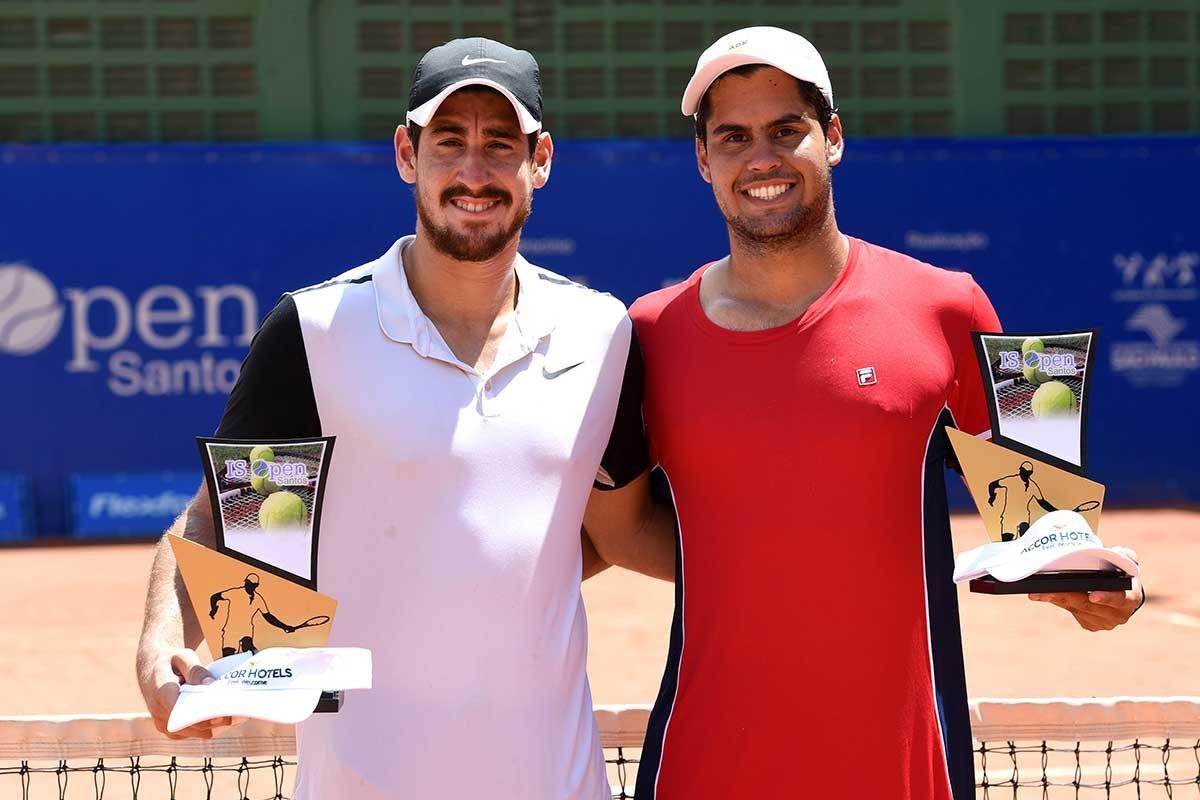 Orlando Luz e Marcelo Zormann conquistam o título de duplas no Future de Santos 2017