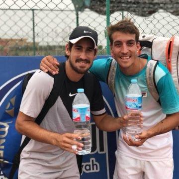 Orlando Luz e Felipe Alves são campeões de duplas no Egito