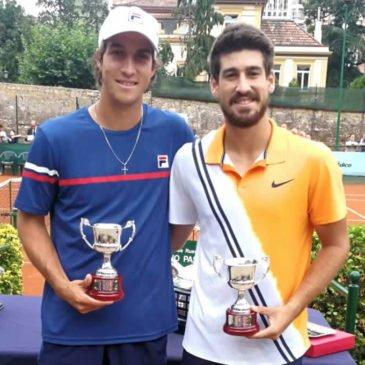 Orlando Luz e Felipe Meligeni Alves são campeões de duplas no Future de Oviedo