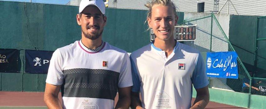 Orlando Luz e Rafael Matos são campeões de duplas no Future de Portimão