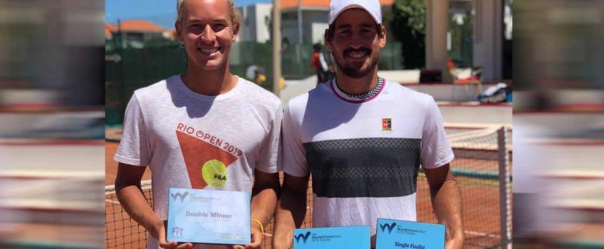 Orlando Luz é campeão de duplas e vice em simples em Future na Tunísia