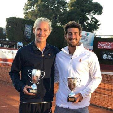 Orlando Luz e Rafael Matos são campeões de duplas no Future de Reus, na Espanha