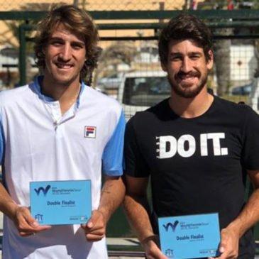 Orlando Luz e Felipe Meligeni Alves são vice-campeões do Future de Monastir, na Tunísia