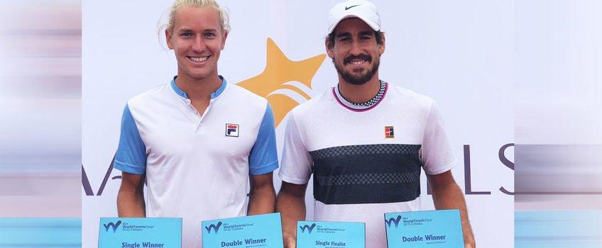 Em Future na Tunísia, Orlando Luz conquista título de duplas e vice em simples