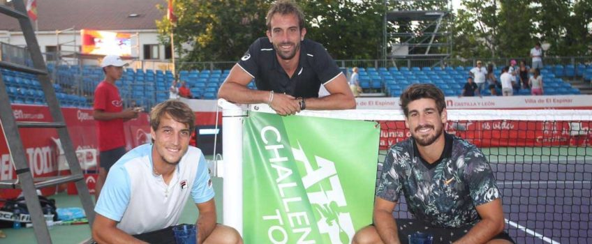Orlando Luz e Felipe M Alves são vice-campeões no Challenger de Segovia