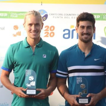 Orlando Luz e Rafael Matos recebem convite para o Rio Open