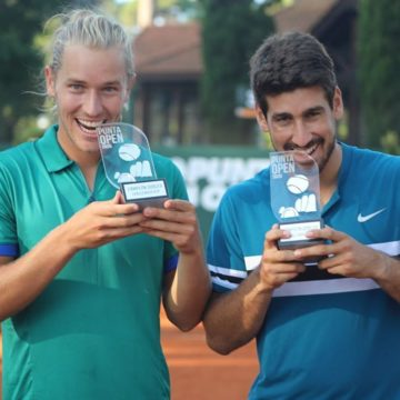 Orlando Luz e Rafael Matos são campeões em Punta del Este
