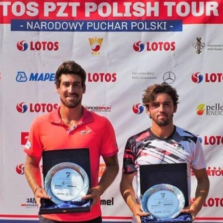 Orlando Luz é campeão de duplas e vice de simples em Wroclaw, na Polônia